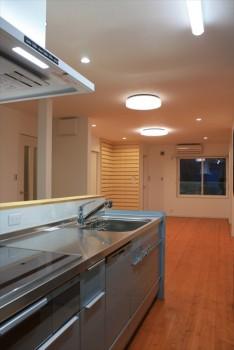 ■クリナップシステムキッチン 新型クリンレディ設置