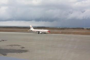 ■新潟空港より上海へ