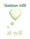 Skeleton Infill at will
